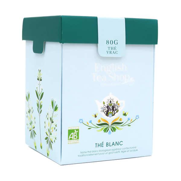 Thé blanc bio en vrac (Boite métal)