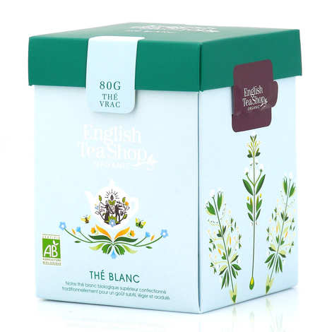 English Tea Shop - Thé blanc bio en vrac