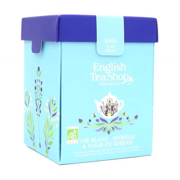 Thé blanc fleur de sureau myrtille bio - Boite métal