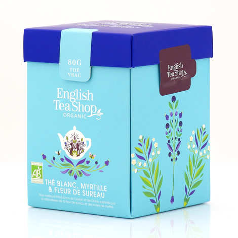 English Tea Shop - Organic White Tea with Elderflower and Blueberry - box vrac