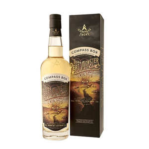 Compass Box Whisky - Whisky très tourbé The Peat Monster - 46%