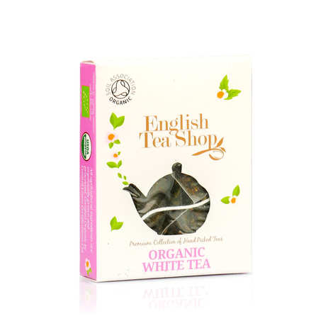 English Tea Shop - Thé blanc bio en sachet individuel