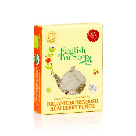 English Tea Shop - Organic Honeybush, Acaï and Pomegranate Herbam Tea - individual sachet