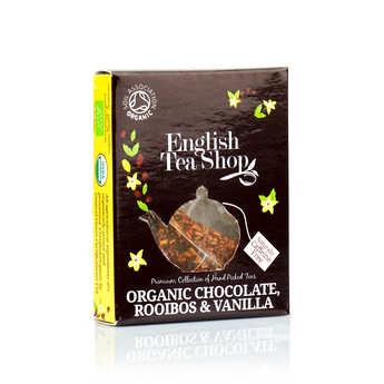 English Tea Shop - Thé rooibos chocolat et vanille bio - sachet individuel