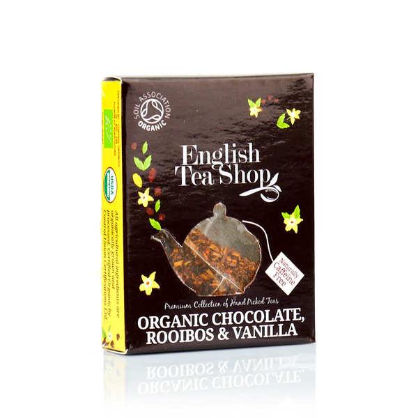Thé rooibos chocolat et vanille bio - sachet individuel - le sachet pyramide