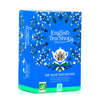 English Tea Shop - Thé Darjeeling bio en sachets