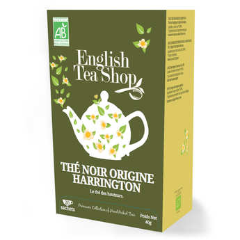 English Tea Shop - Thé noir harrington bio - sachet mousseline
