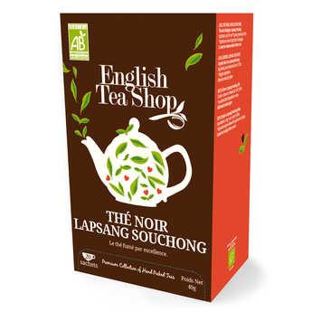 English Tea Shop - Thé noir fumé lapsang souchong bio - sachet mousseline