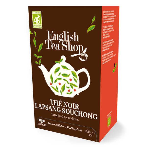 Organic Lapsang Souchong Smoked Black Tea - Muslin Sachet