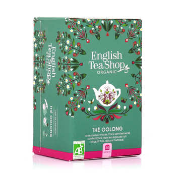 English Tea Shop - Organic Oolong Green Tea - Muslin Sachet