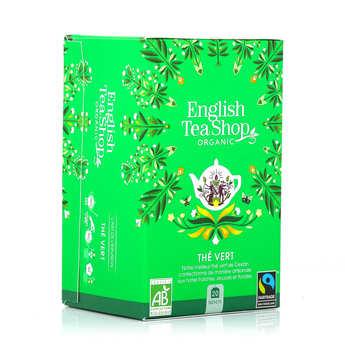 English Tea Shop - Thé vert de Ceylan bio - sachet mousseline
