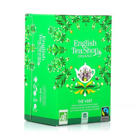 English Tea Shop - Thé vert de Ceylan bio en sachets