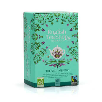 English Tea Shop - Organic Green Tea with Mint and Honey