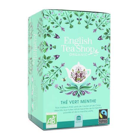 English Tea Shop - Thé vert menthe bio en sachets