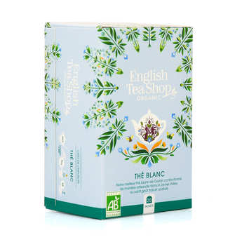 English Tea Shop - Thé blanc bio en sachets