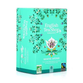 English Tea Shop - Infusion de menthe poivrée bio - sachet mousseline