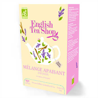 English Tea Shop - Organic Calming Blend Herbal Tea - Muslin Sachet