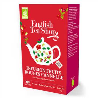 English Tea Shop - Infusion fruits rouges cannelle bio - sachet mousseline