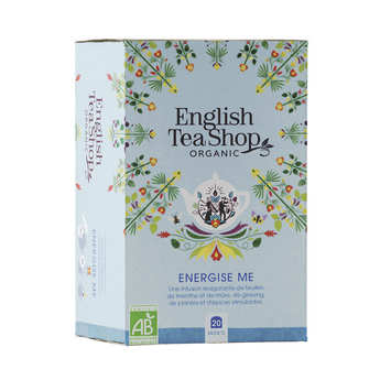 English Tea Shop - Infusion Energise me bio - sachet mousseline