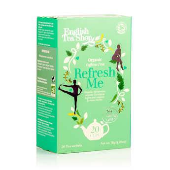 English Tea Shop - Organic Refresh Me Herbal Tea - muslin sachet