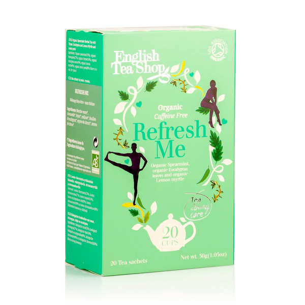 Organic Refresh Me Herbal Tea - muslin sachet