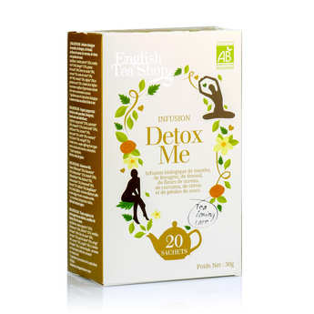 English Tea Shop - Organic Detox Me Herbal Tea - muslin sachet