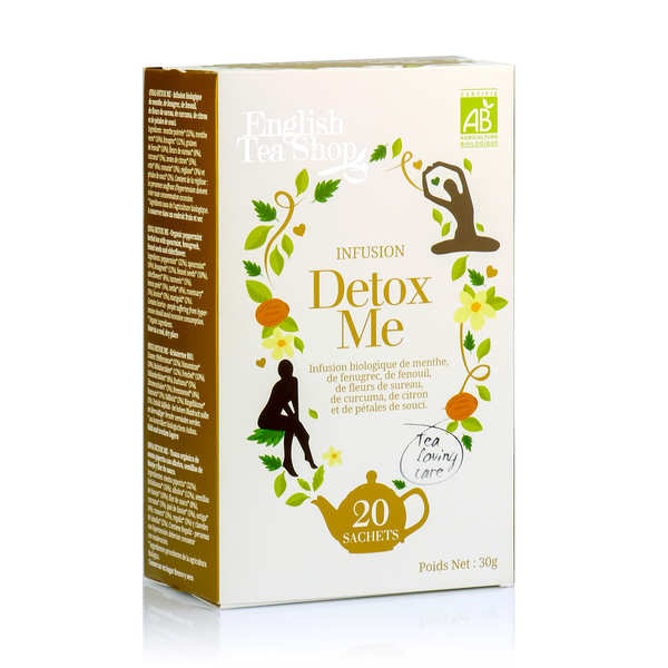 Organic Detox Me Herbal Tea - muslin sachet