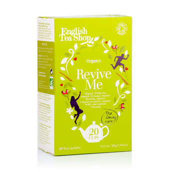English Tea Shop - Organic Revive Me White Tea - muslin sachet