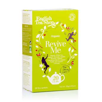 English Tea Shop - Thé blanc revive me bio - sachet mousseline