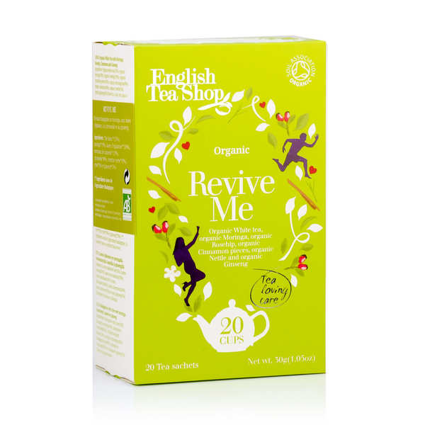 Organic Revive Me White Tea - muslin sachet