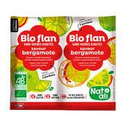 Bio Flan parfum bergamote sans sucres ajoutés