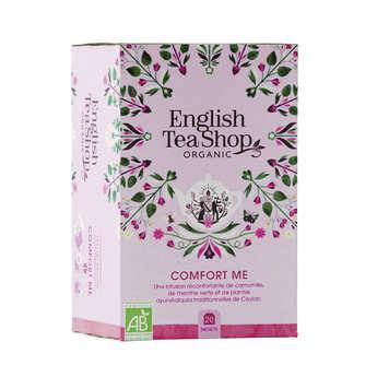 English Tea Shop - Organic Comfort Me Herbal Tea - muslin sachet