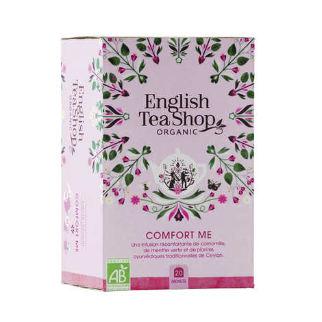 English Tea Shop - Infusion Comfort me bio en sachets