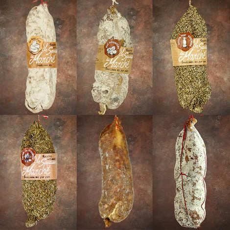 - Lot découverte de 6 saucissons
