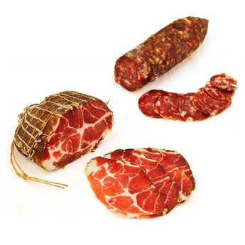 Charcuterie Monte Cinto - Corsica charcuterie discovery offer