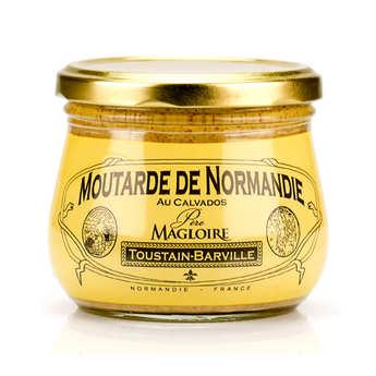 Toustain Barville - Moutarde de Normandie au calvados Père Magloire