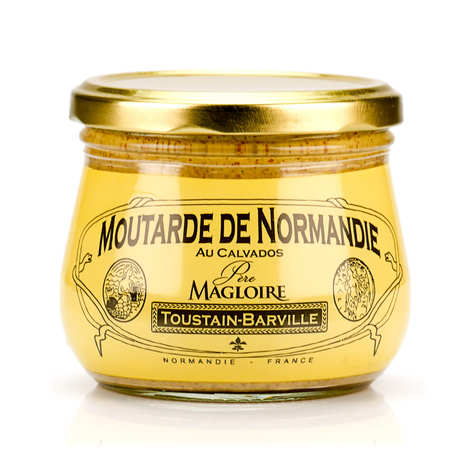 Toustain Barville - Mustard from Normandy with Calvados