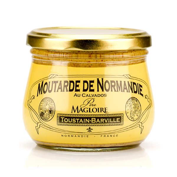Moutarde de Normandie au calvados Père Magloire