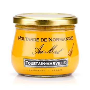 Toustain Barville - Mustard from Normandy with Honey