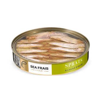 Sea Frais Gold - Sprats nature à l'huile d'olive