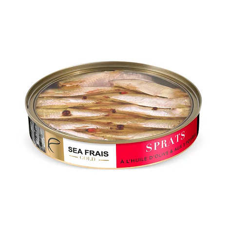 Sea Frais Gold - Sprats with 3 Peppers