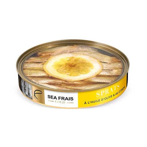Sea Frais Gold - Sprats with Lemon