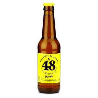 Brasserie de Lozère La48 - Bière La48 de Lozère - Blonde 5%