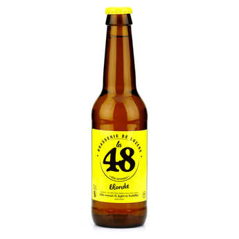 Brasserie de Lozère La48 - Blond French Beer - La48 %5