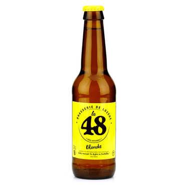 Bière La48 de Lozère - Blonde 5%