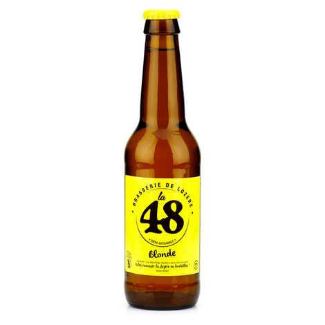 Brasserie de Lozère La48 - Blond French Beer - La48 %5