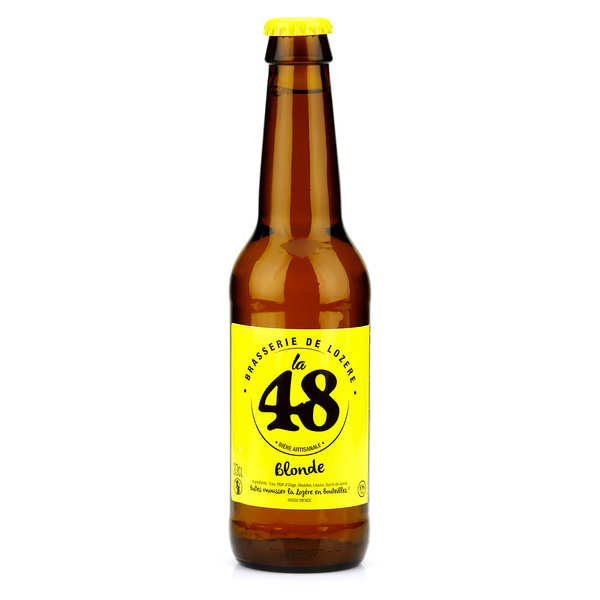 Blond French Beer - La48 %5