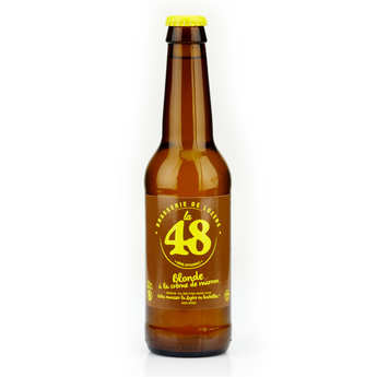 Brasserie de Lozère La48 - Bière La48 de Lozère - Blonde à la crème de marron 5%