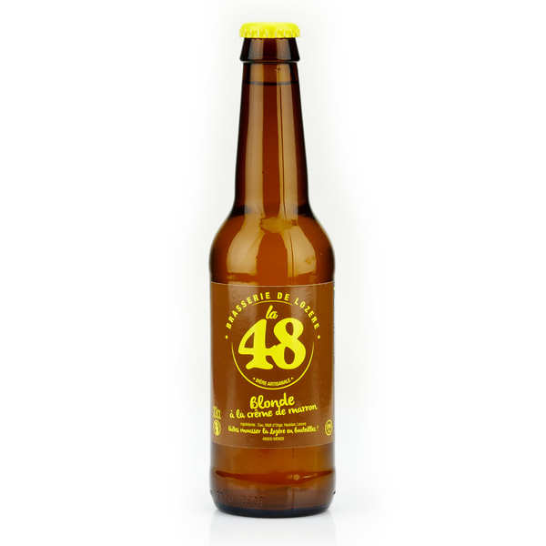 Blond French Beer with Chestnut Cream - La48 5%
