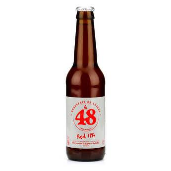 Brasserie de Lozère La48 - Bière La48 de Lozère - IPA Red 5%